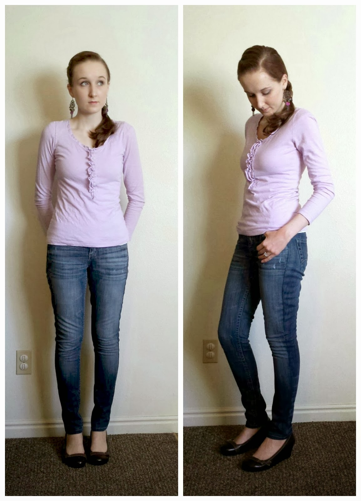 skinny jean refashion, flare to skinny jeans, pants refashion, diy skinny jeans, skinny jeans tutorial