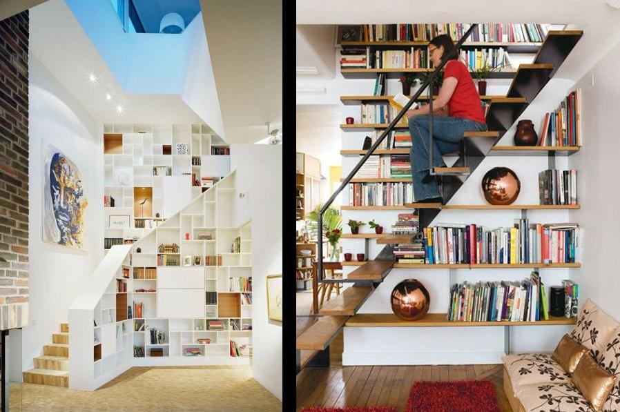 La fabrique d co escaliers et rangement conseils pour - Escalier avec tiroirs de rangements ...