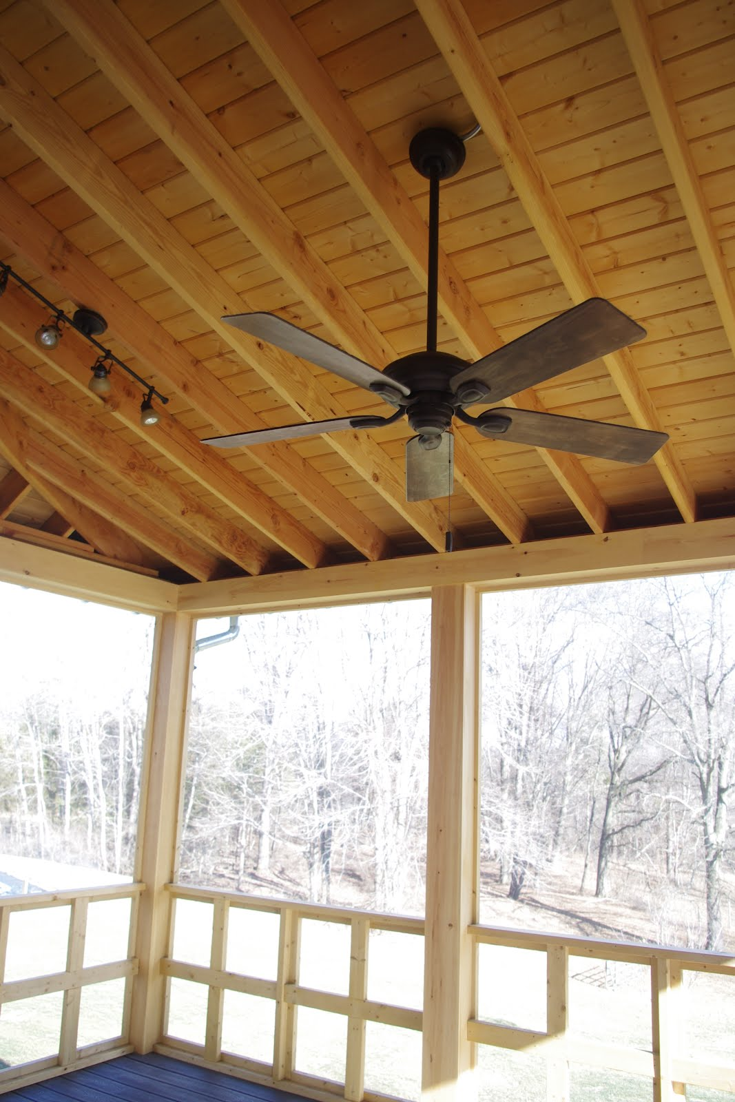 High Screened Porch
