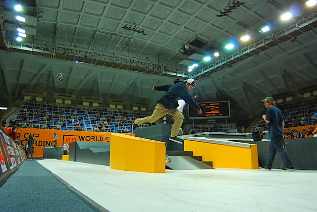 World Cup Skateboarding Moscow