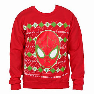 Purchase your Ugly Spider-Man Christmas Sweater at Amazon here!