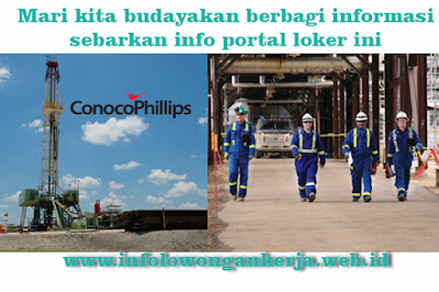 Info lowongan kerja terbaru ConocoPhillips Company
