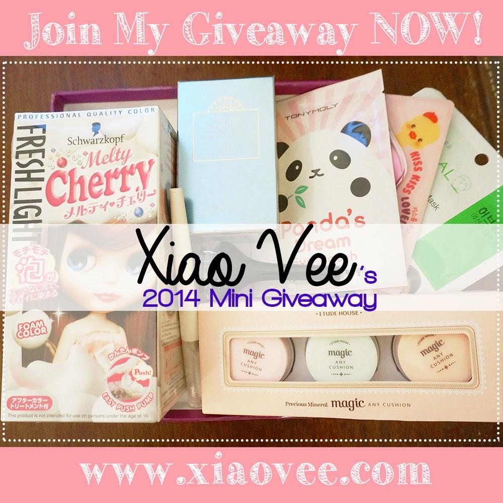 Xiao Vee's 2014 Mini Giveaway