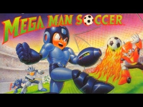 mega man soccer box art
