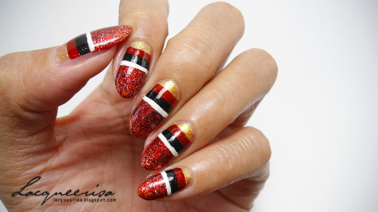 Germany Nails (Finale) lacqueerisa.blogspot.com