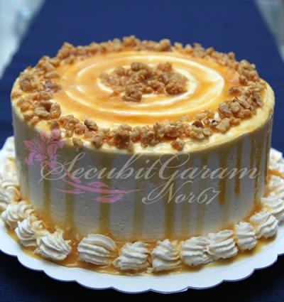 walnut heaven butterscotch cake