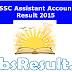 UPSSSC Assistant Accountant Result 2015 Auditor Cut Off Mark