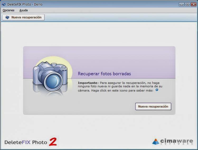 برنامج استرجاع الصور المحذوفة من الهاتف و الميموري كارد DeleteFIX Photo