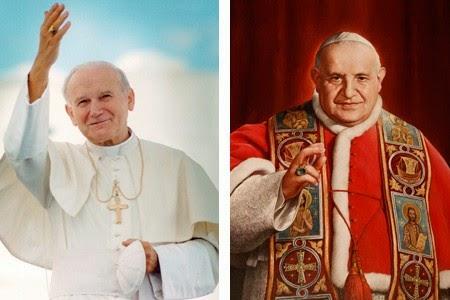 Santos Juan XXIII y Juan Pablo II