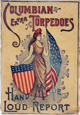 Vintage fireworks ad.