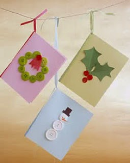 Cartes de Noël avec des Matériaux Recyclés, Cadeaux Responsables avec l'Environnement