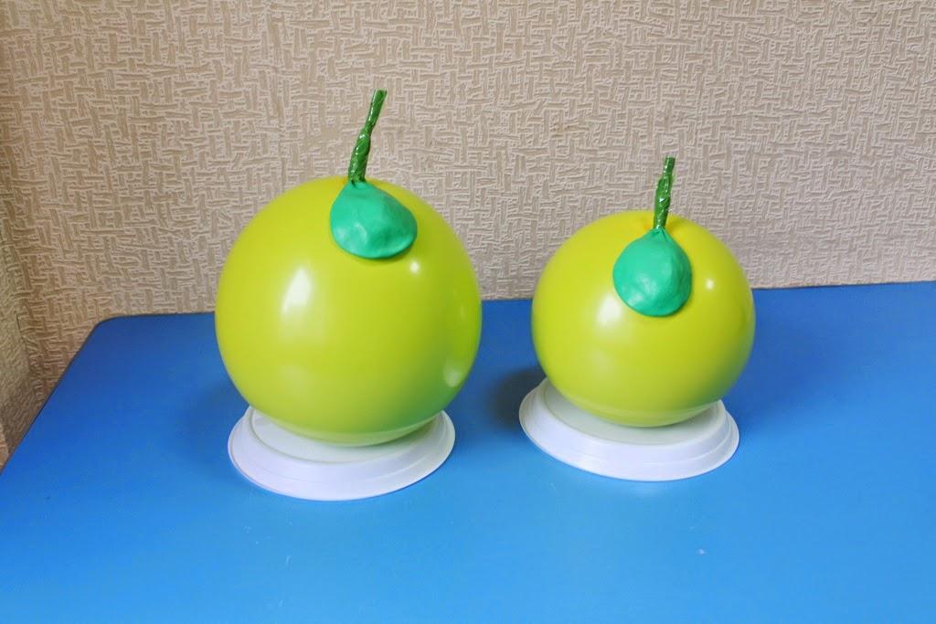 яблоки из воздушных шаров