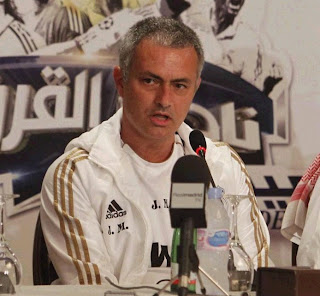 Mourinho in a press conference in Kuwait