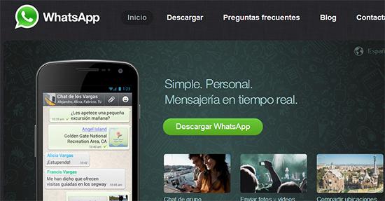 Como descargar whatsapp desde la web
