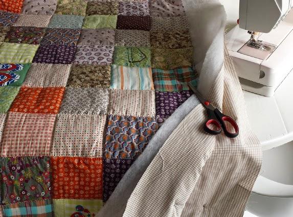 Memoryquilt bor z handwerkjuffie for Quilt maken met naaimachine