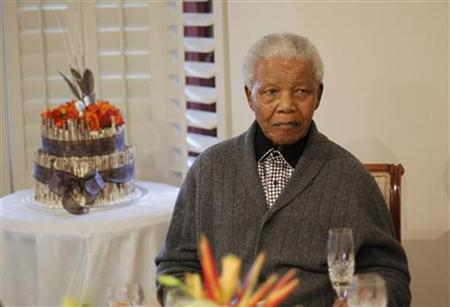 mandela looks well and ready to go home