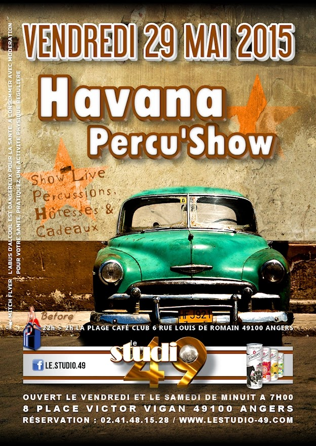 soirée Havana à Angers