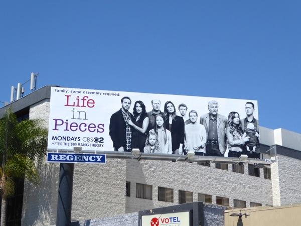 Life in Pieces series premiere billboard