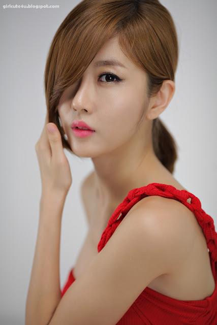 6 Choi Byeol Yee-Hot Red-very cute asian girl-girlcute4u.blogspot.com
