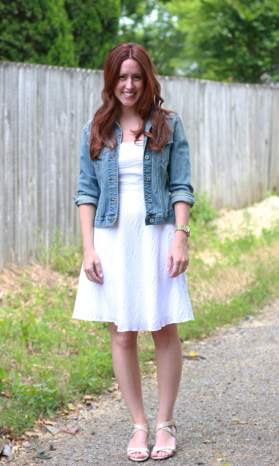 Here & Now : LWD + denim jacket