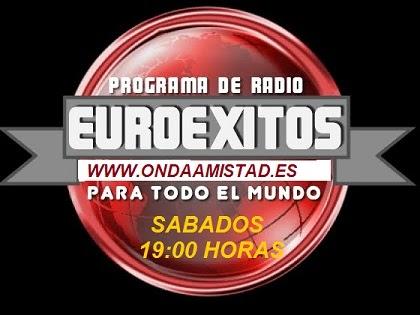 "PROGRAMA :"" EUROEXITOS LATINOS"""