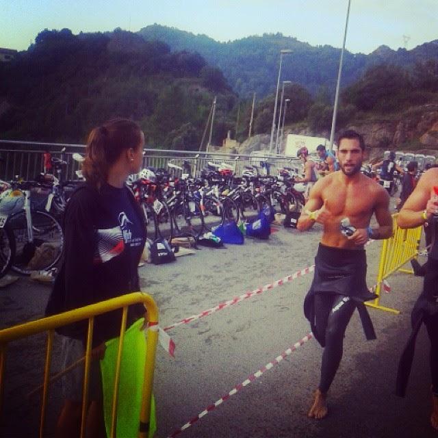 triatleta triatlon transicion foto sergio turull