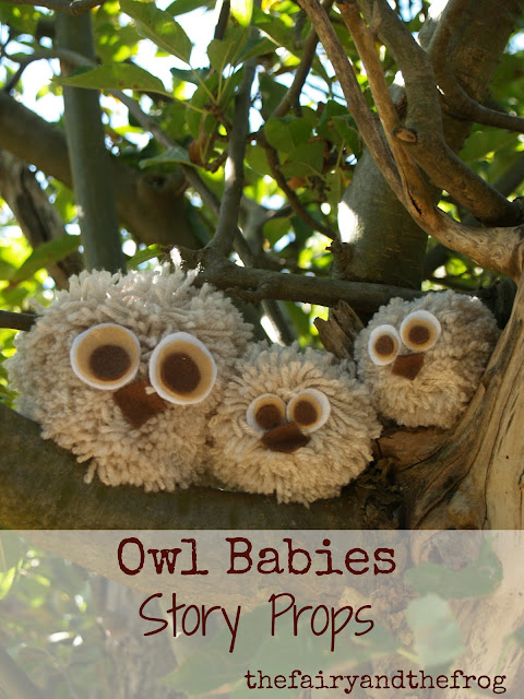 How to make an Owl babies story sack