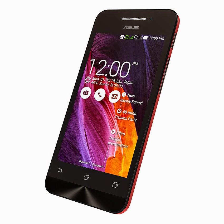 Harga dan Spesifikasi Hp Android Asus Zenfone 4 Terbaru - Hp Zenfone 4