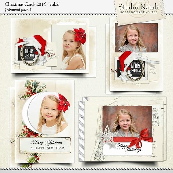 http://shop.scrapbookgraphics.com/Holiday-cards-2014-II..html