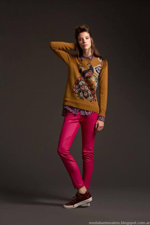 Desiderata invierno 2014 sweaters tejidos.