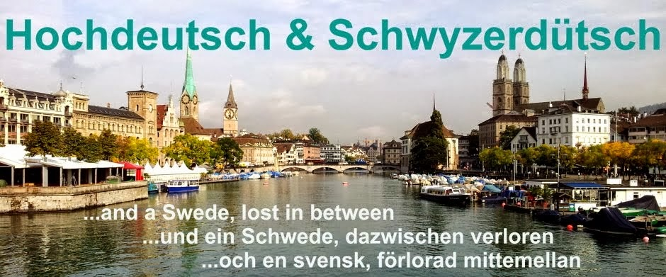 My New Blog about life in Zurich (Switzerland)