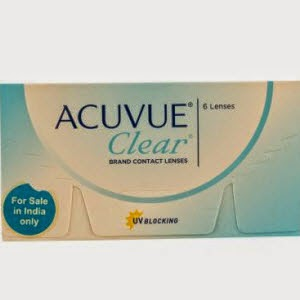 Lenskart: Buy Johnson & Johnson Acuvue Cleaer 6 Lenses Box at Rs.564