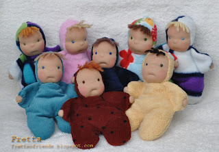 Fretta Pocket Baby Dolls 15 Cm 6 Quot Waldorf Inspired