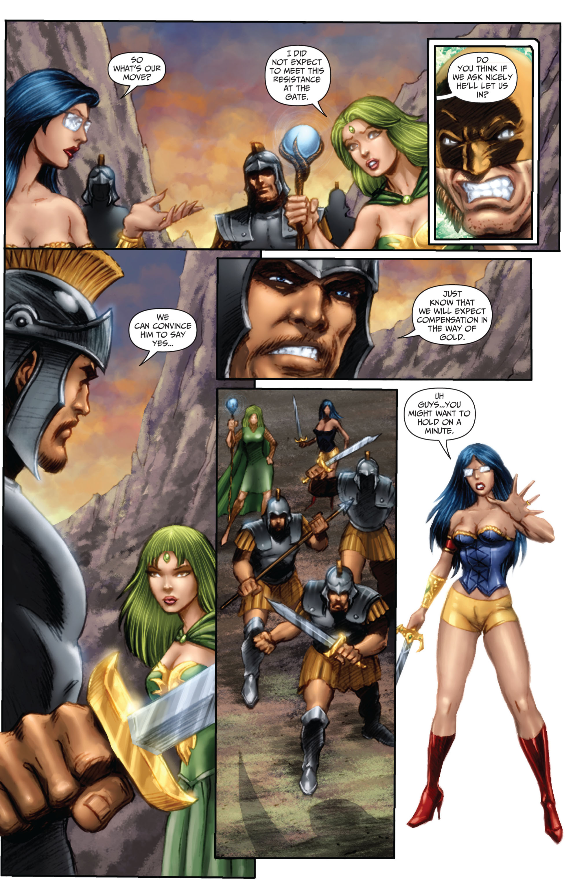 Grimm Fairy Tales (2005) Issue #67 #70 - English 4