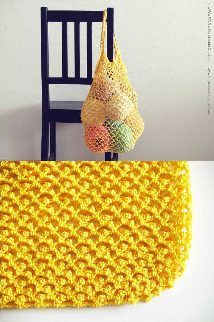 Stitching Times Crocheted Sandler Bag