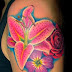 Pictures Of Tattoos Of Flowers