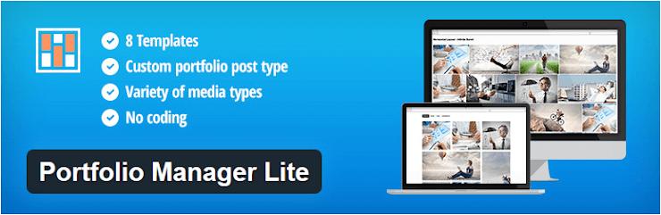 Portfolio Manager Lite plugin