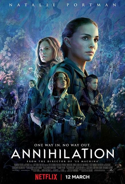 Annihilation (Aniquilación) (2018) 720p y 1080p WEBRip mkv Dual Audio AC3 5.1 ch