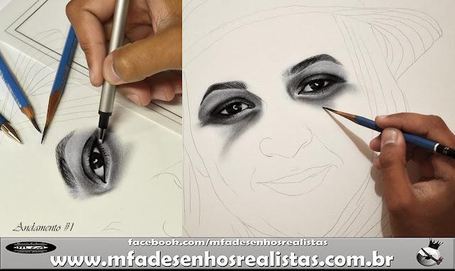 Desenhos Realistas ( Maurício Fortunato Araújo)