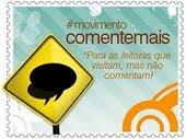 :.#movimentocomentemais.: