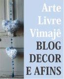 Este é o blog de Decoração e arte.