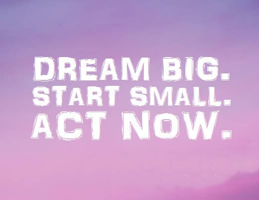 achieving your dreams quotes like success