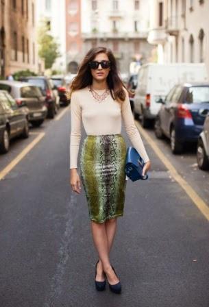 tendencias street style faldas midi