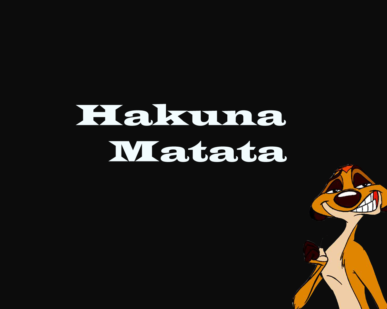 Onemorestep revolution mistakes hakuna matata moments - Signification hakuna matata ...