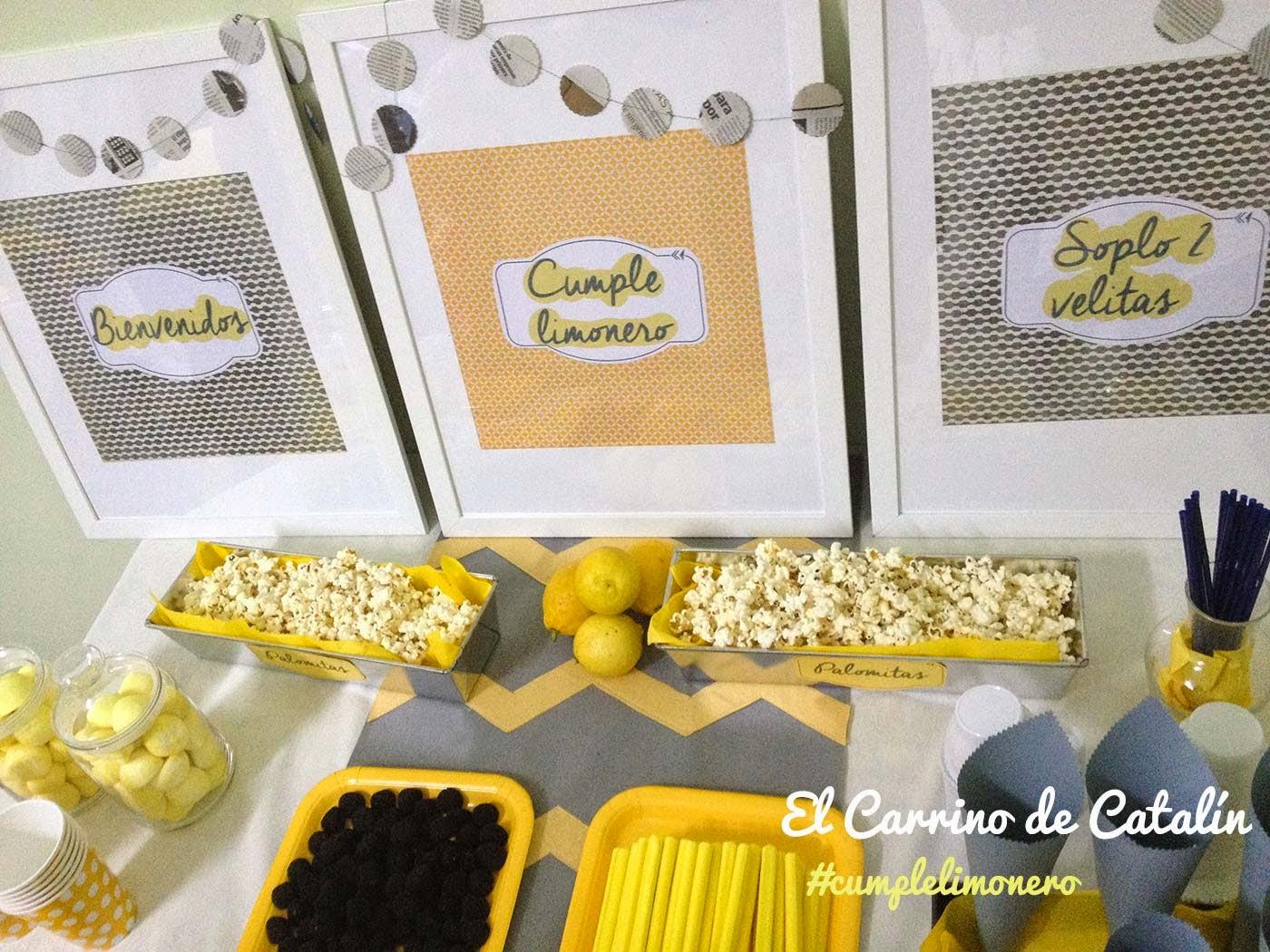 decoración de mesa de cumpleaños infantil