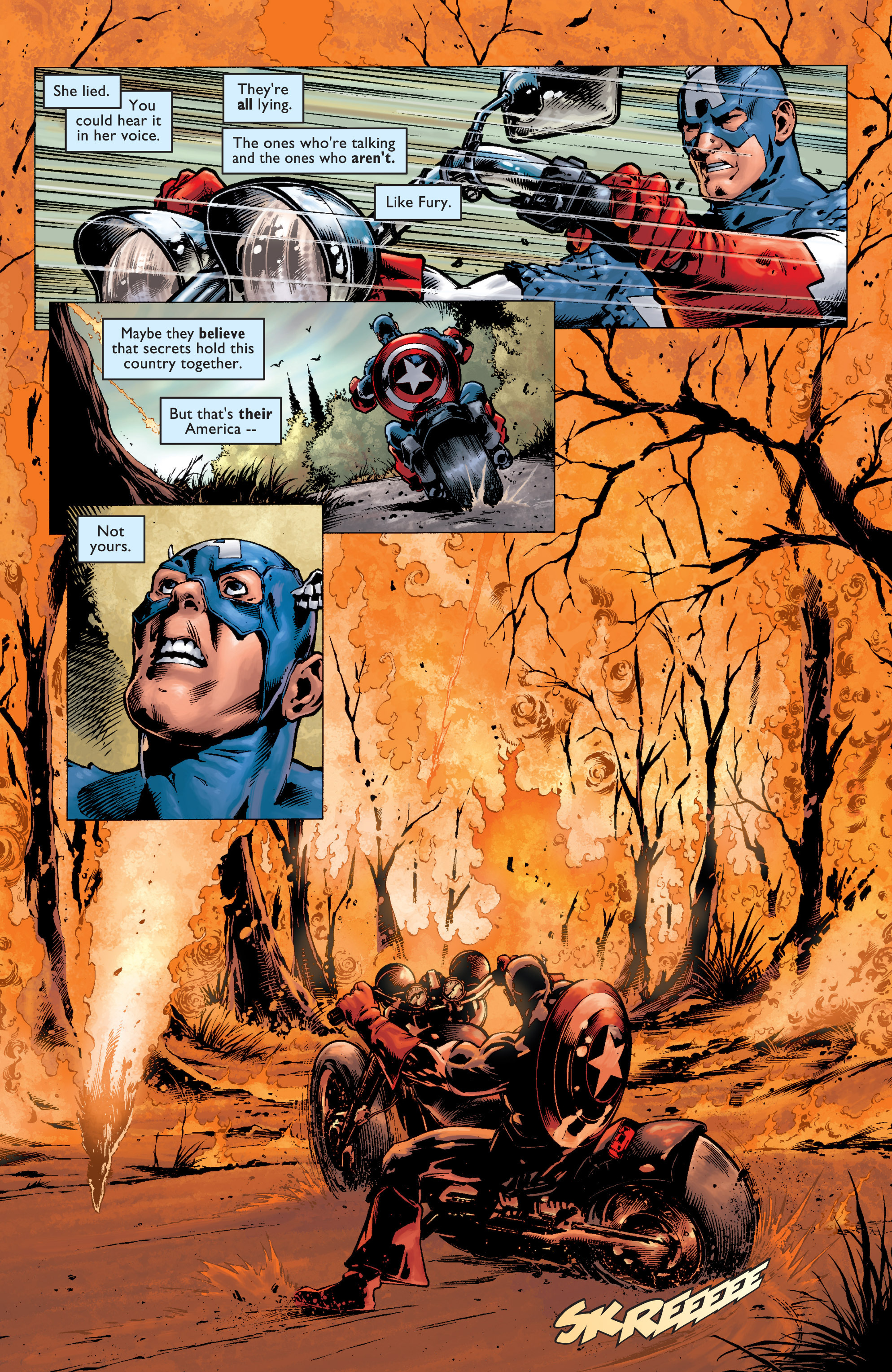 Captain America (2002) Issue #7 #8 - English 23