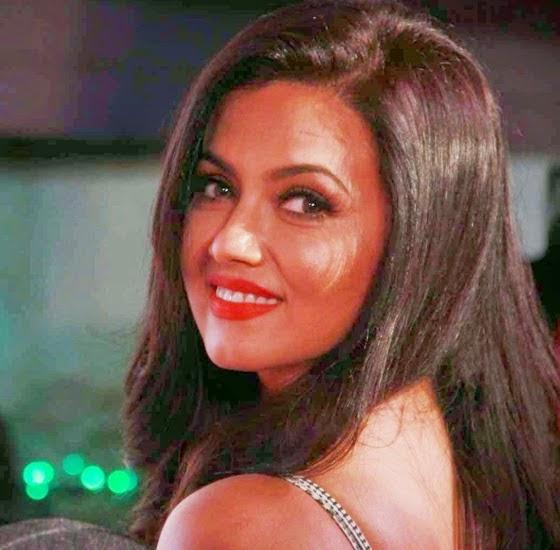 Sana Khan Latest Hot Spicy Stills at Society Interior Awards in Mumbai