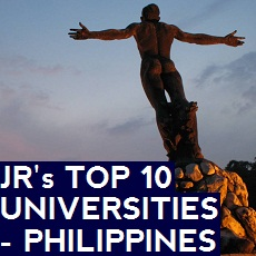 JR's Top 10 Universities in the Philippines