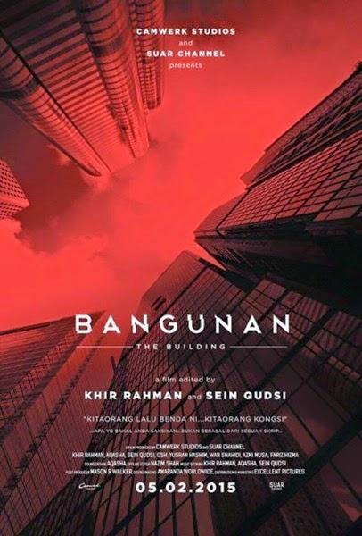 Sinopsis filem seram Bangunan, review Penunggu Bangunan, filem paranormal, filem seram 2015, filem arahan Khir Rahman, pengarah pelakon dan gambar filem Bangunan, tonton filem Bangunan