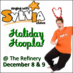 singing with sylvia's holiday hoopla
